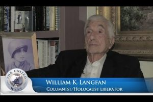 Holocaust Camp Liberator 'Predicted Gaza War'